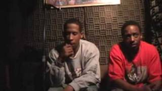 HUSSEIN  FATAL ((BADD LAND  T.V.))  TALKING  BOUT  HIS  FIRST  RIME part 4