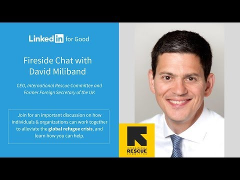 Fireside Chat with David Miliband: Brought to you by LIFG