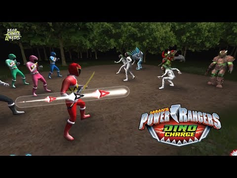 Power Rangers Dino Charge Rumble   THREE'S A CROWD Challenge!