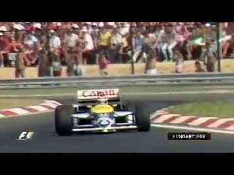 Hungary 1986: Piquet's genius