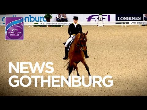 Cathrine Dufour ahead of Isabell Werth in Gothenburg   FEI World Cup™ Dressage