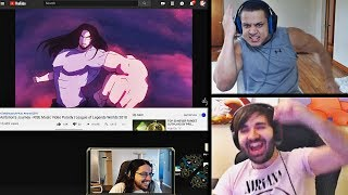 IMAQTPIE REACTS TO HIS APPEARANCE IN