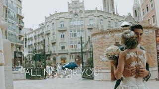 VIDEO DE BODA { FALLING FOR YOU | MOLINO REAL | 100% AMOR}