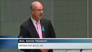 Kelvin Thomson Mp: 'witches Hats Theory Of Government', Appropriation Bills 25/2/15