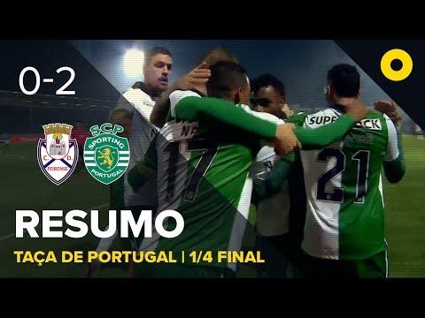 Feirense 0-2 Sporting - Resumo | SPORT TV