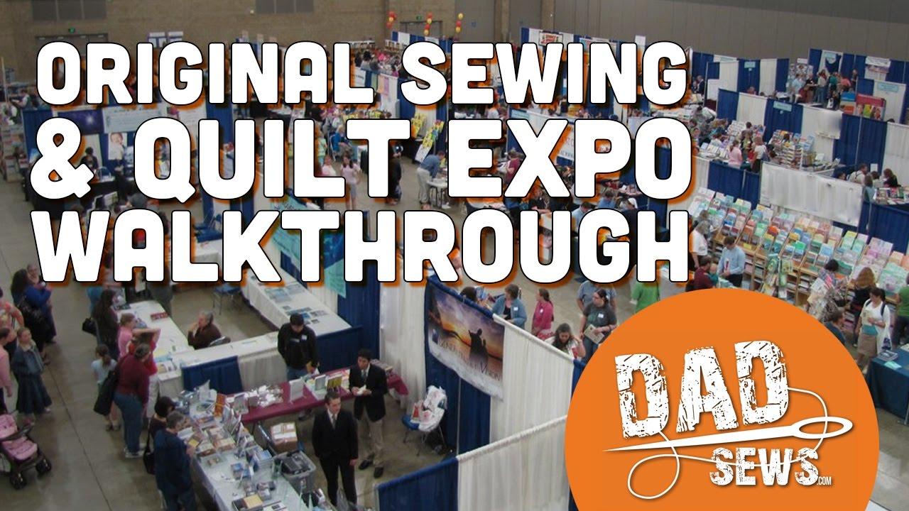 Original Sewing & Quilt Expo - 2016 Walkthrough Fredericksburg VA ... : original sewing and quilt expo - Adamdwight.com