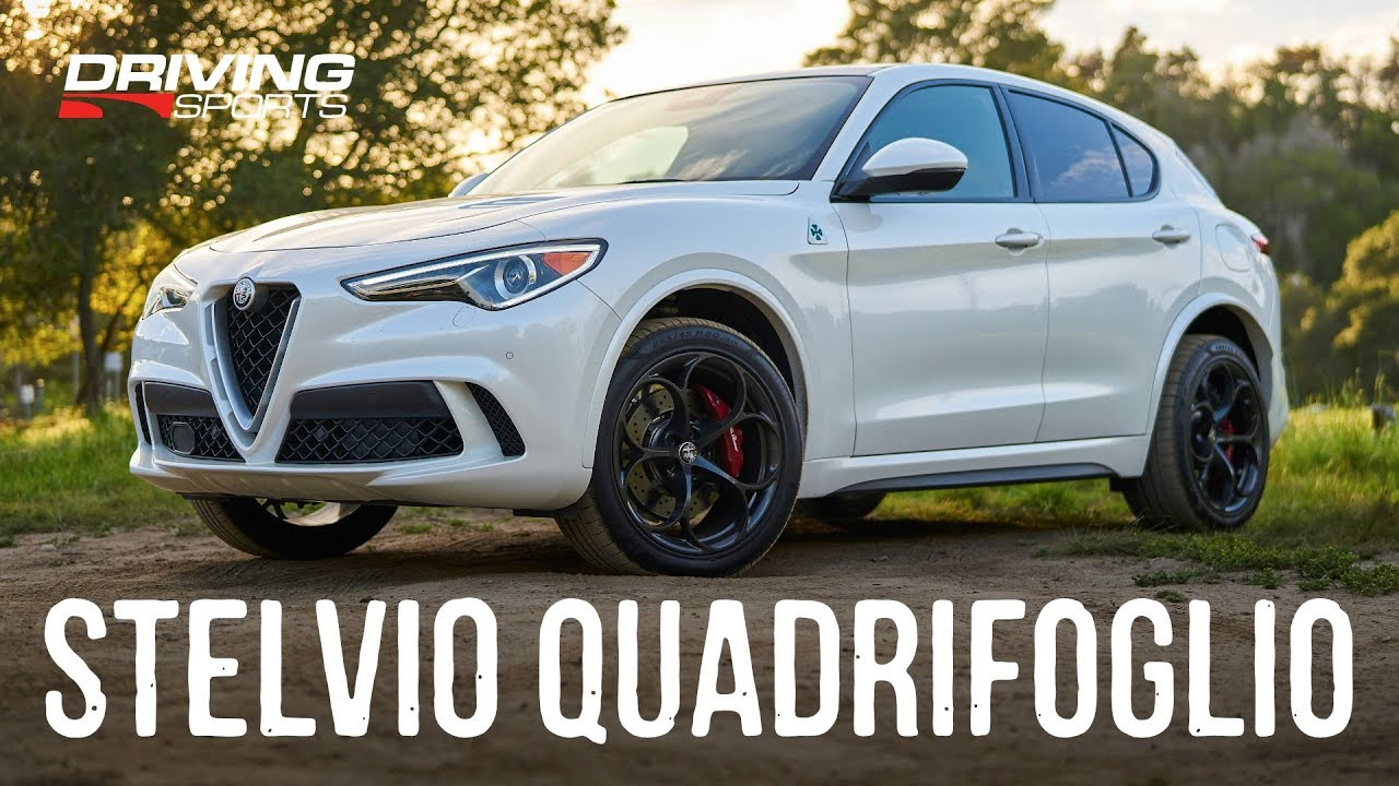 I'd take this Stelvio Quadrifoglio over the GLC Ale tried yesterday any day of the week!!!