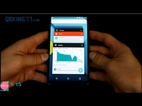 Android 5.0 Lollipop Full Review