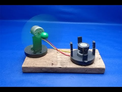 Free Energy Generator Power Magnet With Motor