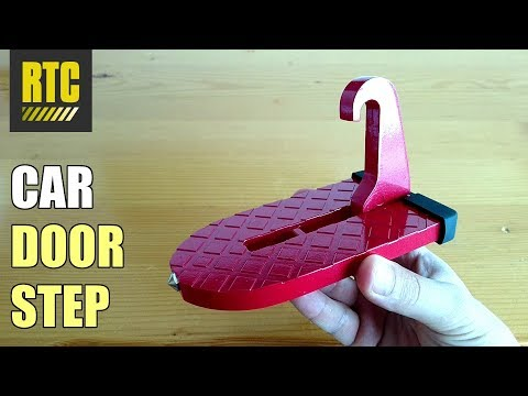 Car Door Step Tool For Easy Access Of Roof Rack Storage Box And Cargo Carrier