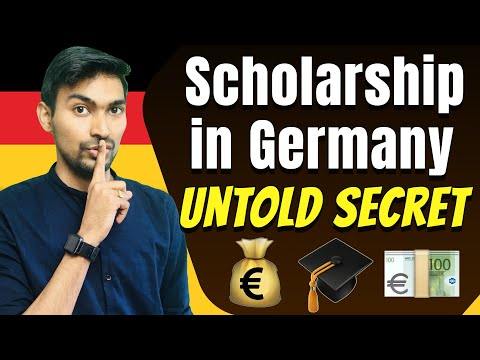 Scholarship in Germany   Untold Secret   How I won FIVE scholarships in Germany 🇩🇪
