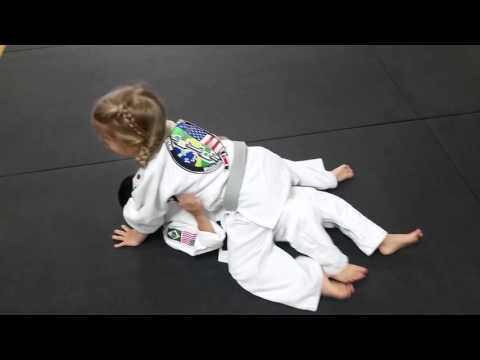 Little Dragons BJJ training