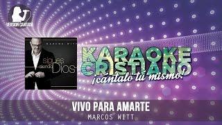 Vivo para Amarte - Marcos Witt (Instrumental)