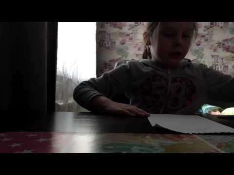 Как делать бумажную куклу часть 1