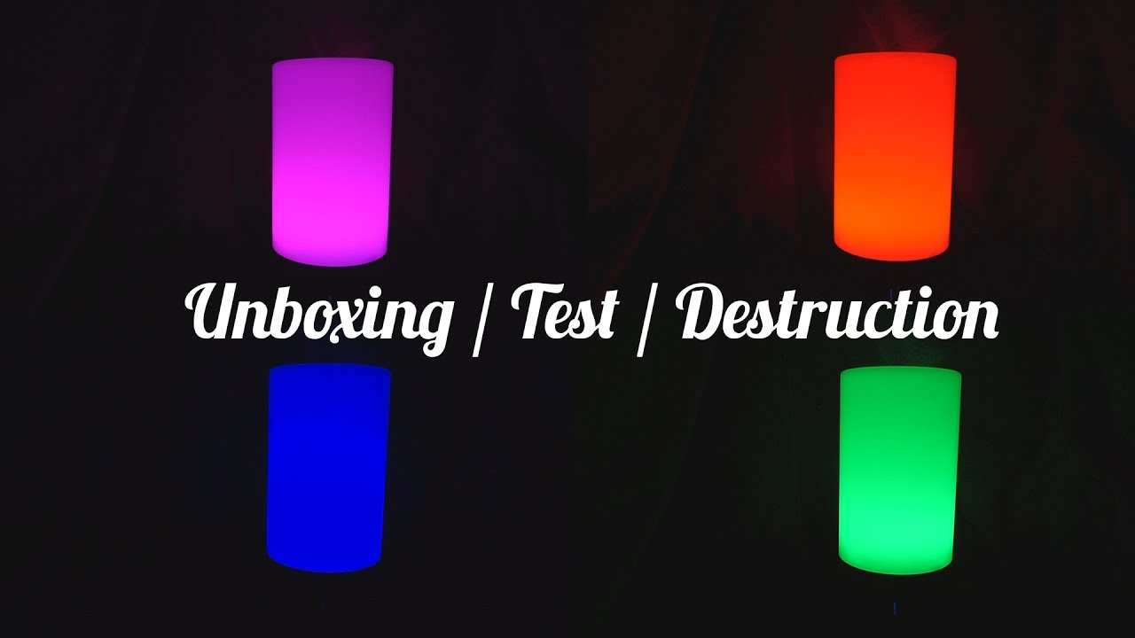 Aukey smart led lampe unboxing test destruction youtube aukey smart led lampe unboxing test destruction parisarafo Images