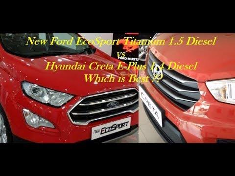 #NewFordEcoSport #Hyundai #Creta