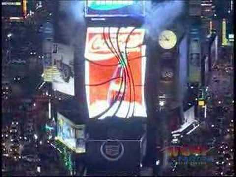 Coca-Cola Times Square Spectacular Launch - Pt. 2