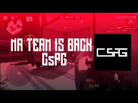 CsPG NA is Back