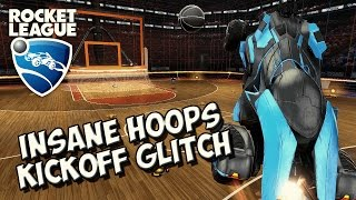 INSANE Rocket League Supersonic Kickoff GLITCH! - 2017 [PS4 + PC] | Rocket League 2v2 Hoops