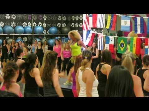 Zumba Fiesta Latina ana celia da silva brazil zumba fitnes