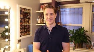 My Space: KINKY BOOTS Star Andy Kelso Shares His Favorite Dressing Room Items