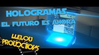 Como hacer hologramas realistas tutorial after effects.