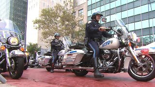 NYPD motorcades keep world leaders safe to and from U.N.