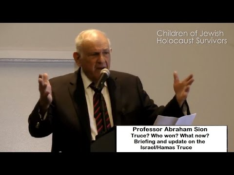 Truce? Who won? What now? Update and briefing on Israel/Hamas truce with Prof. Abraham Sion