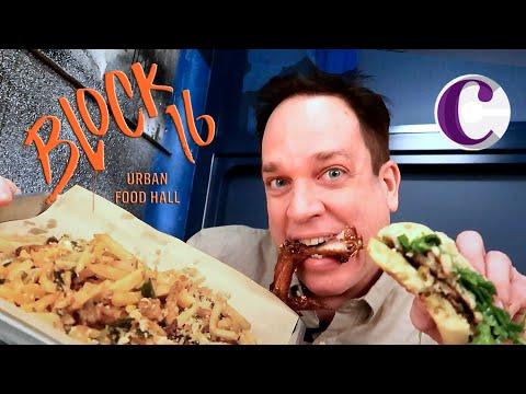 Block 16 Urban Food Hall Cosmopolitan Las Vegas - Full Tour!