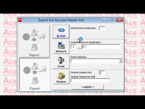 ACE Creditors System - Online Presentation