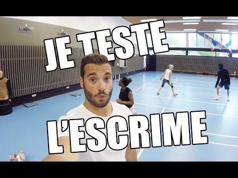 JE TESTE L'ESCRIME ! - LOY !
