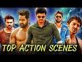 Top Action Scenes   Best Fight Scenes  Back To Back  Allu Arjun, Prabhas, Jr NTR, Ram Charan, Vijay