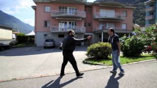BRUTAL & EXPLOSIVE STREET SELF DEFENSE -  RBS   On The Street Demo 2014 -