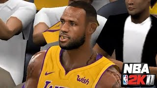 NBA 2K11: Welcome to the Lakers, LeBron (LA Lakers vs. Boston) | PC Gameplay with Mods