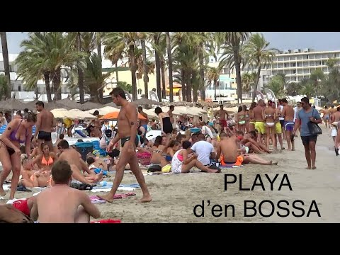 Playa d'en Bossa , Ibiza HD