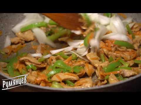 курица терияки с лапшой и овощами рецепт пошагово