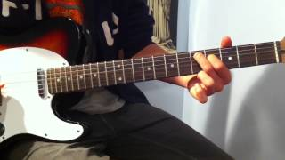Familiar Taste Of Poison - Guitar Lesson - Halestorm