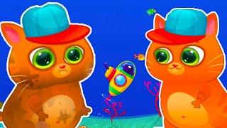 Bubbu | Рыжий кот Бубу | Мультик игра про кота | Развивающие игры для детей | Детские игры