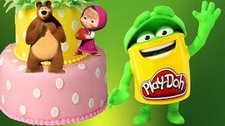 Тортик из play-doh! Masha and The Bear!(, 2016-05-14T12:16:35.000Z)