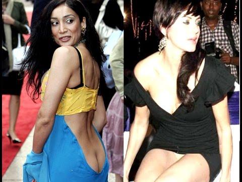 hot bollywood heroines wardrobe malfunction pics - youtube