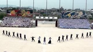 2016年 福岡県立城南高等学校 応援合戦 青ブロック