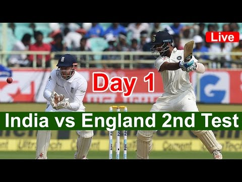 india vs England 2nd Test | Live Streaming Score