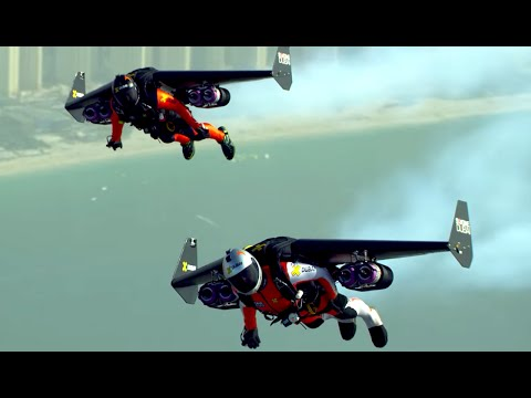 AMAZING Jet Pack Stunt Around Dubai | What's Trending Now