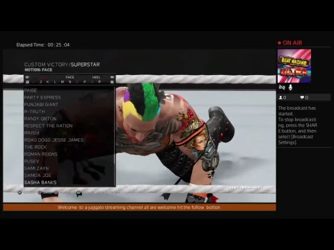 juggaloboondox1's Live PS4 Broadcast music buy D Evil Permission was given go check him out