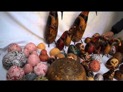 Handmade crafts from Peru