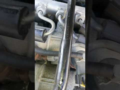 Alfa 159 high pitched idle noise from engine