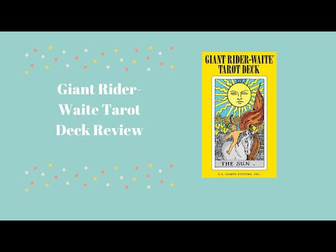 giant-rider-waite-tarot-deck-first-impression-and-review