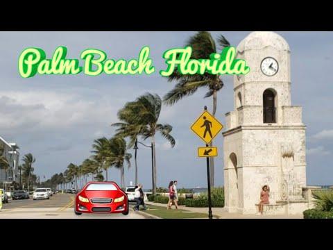 Palm Beach Florida 🌴 | Drive 🚘 Around