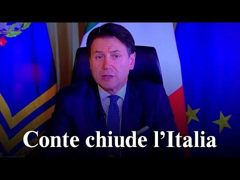 CONTE CHIUDE L'ITALIA // #Coronavirus 2020 | #Covid19 | #Quarantena forzata | #Pandemia