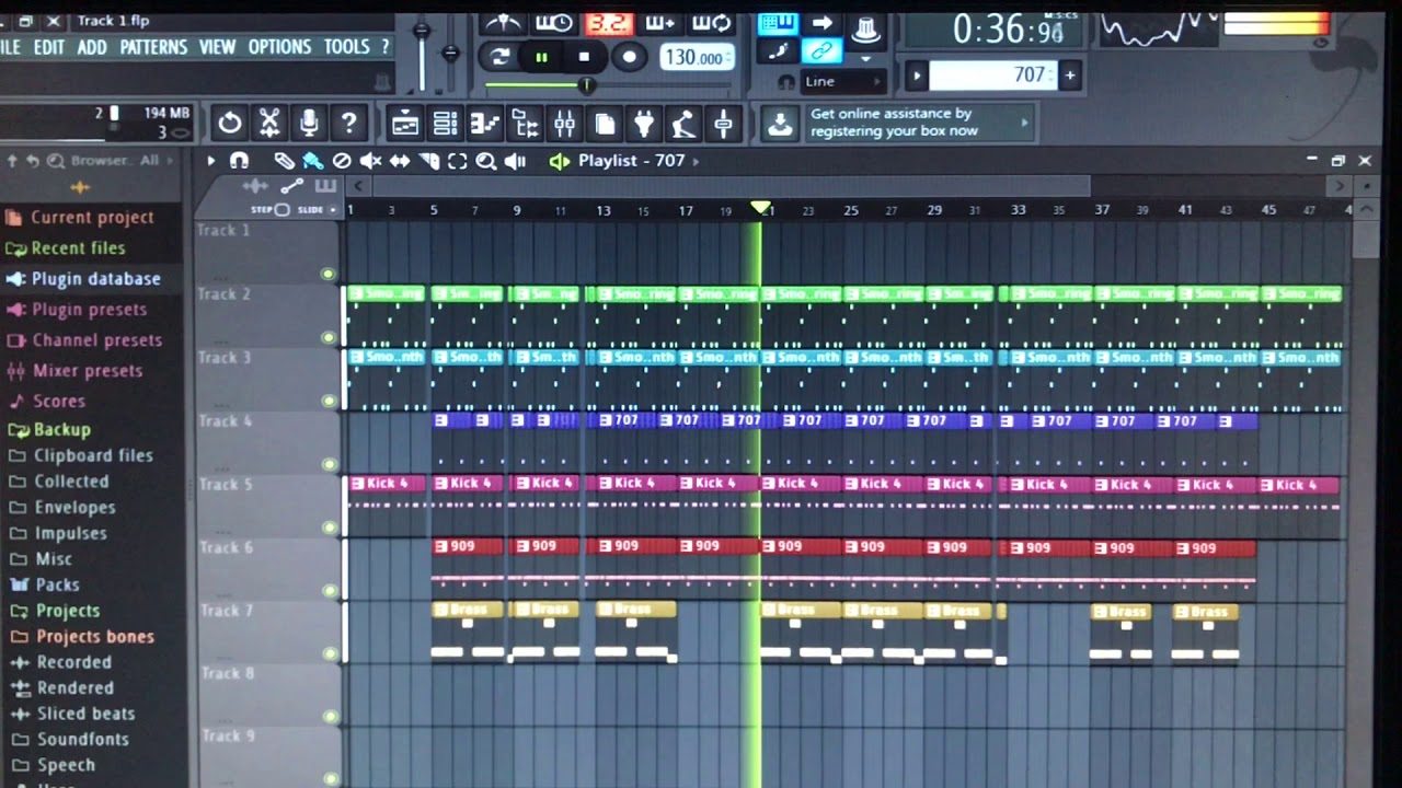 FL Studio - Fruity Edition - Trap Beat